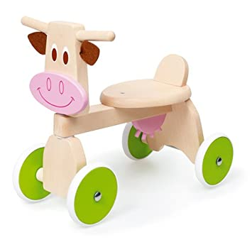 Schaukelspielzeug Rutscher Kuh