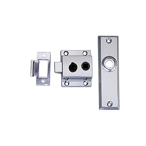 Perkon 0930DP0CHR Reverse Strike Rim Latch Set (Perko Door Latch)