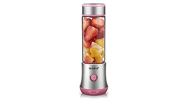 Meet World Fruit Juicer Cup Personal, tamaño Fruta mischmaschine, portátiles Recargables Zumo Licuadora eléctrica para Home Viajar al Aire Libre Trabajar: Amazon.es: Deportes y aire libre