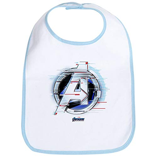 CafePress Avengers Endgame Logo Cute Cloth Baby Bib, Toddler Bib