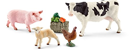 Schleich North America My First Farm Animals Toy Figure ()
