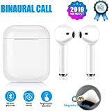 Wireless Earbuds Bluetooth Headset Really Wireless Headphones Stereo Noise Reduction Headphones in-Ear Sports