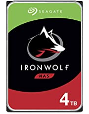$109 » Seagate IronWolf 4TB NAS Internal Hard Drive HDD – CMR 3.5 Inch SATA 6Gb/s 5900 RPM 64MB Cache for RAID Network Attached Storage – Frustration Free Packaging (ST4000VNZ008/VN008)