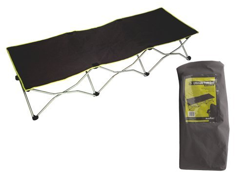 Summit Ultimate Luxury Fold Bed with Carry Bag - Black by Summit