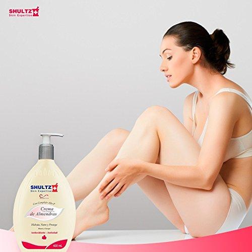 Protective Anti Aging Body Cream (Shultz Skin Expertise Antiaging & Antioxidant Body Cream - Almond Cream Fragrance - Hands & Body - 13.5 fl oz - Crema Antiedad Y Antioxidante Para El Cuerpo)