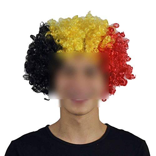 Wigs Football Fans Party Headwear Carnival Props Christmas Halloween Clown Hat -