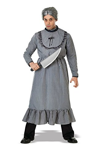 Rubies Mens Scary Creepy Family Psycho Norman Bates Grandma Costume, Standard (38-46) ()