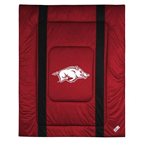 NCAA Arkansas Razorbacks Sideline Comforter Twin (Quilts Arkansas)