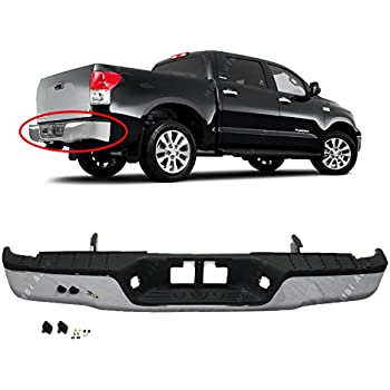 oe replacement toyota tundra rear bumper assembly partslink number to1103117. Black Bedroom Furniture Sets. Home Design Ideas