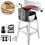 VEVOR Jointers Woodworking 10 Inch Benchtop Jointer 18000 CPM Jointer Planer Heavy Duty 19.5 FPM Benchtop Planer 10 Inch Maximum Cutting Width Wood Jointer Benchtop For Wood Cutting Thickness Planer