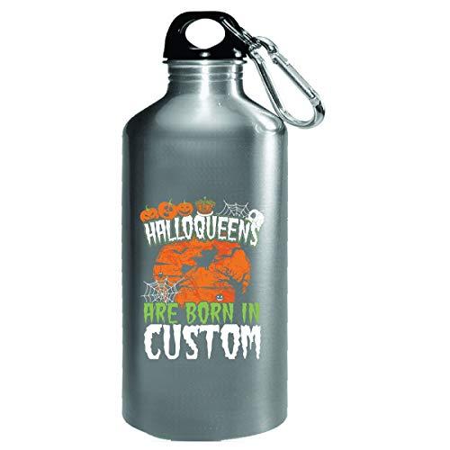 Halloween Costume Idea Halloqueens Born In Custom - Water Bottle