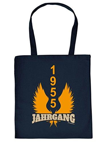 1955 JAHRGANG :Tote Bag Henkeltasche. Beutel mit Aufdruck. Tragetasche, Must-have, Stofftasche, Geschenkidee