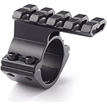NcDe Tactical Barrel Clamp Mount With Rail For 12 Gauge Shotguns And Magazine Tubes Fits Remington 870 1100 11-87 SP-10 Mossberg 500 835 Maverick 88Winchetser 1300