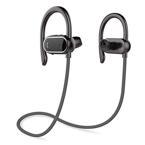 Z ZHOUHAI Bluetooth Headphones Sport Wireless Sweat-Proof Earphones Bass Stereo with Built-in Mic Ear-Buds for Gym Running Cycling Hiking 8 ()