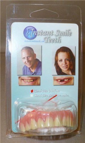 Dr. Bailey's Secure Instant Smile Upper -One Size Fits Most(Discontinued by manufacturer)
