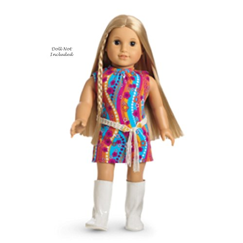American Girl Julie Funky Flower Dress