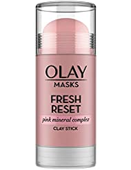 Face Masks by Olay, Clay Facial Mask Stick With Pink...