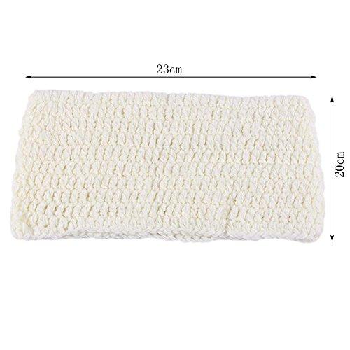 Enduo Newborn Pea Pod Crochet Costume Silkworm Cocoon Design Baby Photo Props