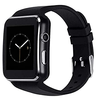 ALCENTIS - Montre Connectée SN07 Bluetooth Smart Watch avec Écran Tactile - Caméra - Support SIM