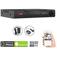 ANRAN H.264 Network 960H Full D1 Motion Detection 4CH DVR CCTV Surveillance Security System Digital Video Recorder