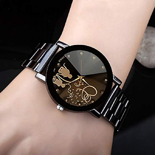 Skyloft Analog Black Dial Women's Watch - J49