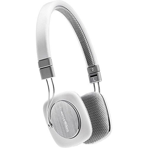 Bowers & Wilkins P3 Recertified Headphones, White/Grey (Wired) (Certified Refurbished)