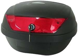 Filmer 80901 Top Case - Baúl para motocicleta (48L), color negro