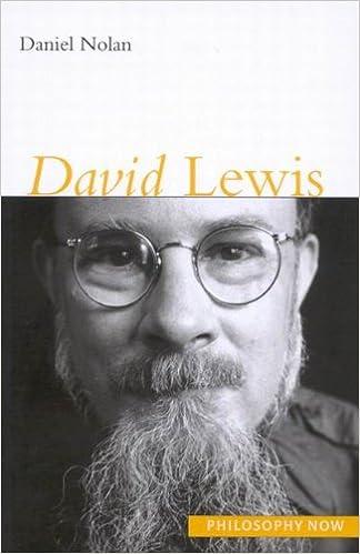 David Lewis (Philosophy Now)