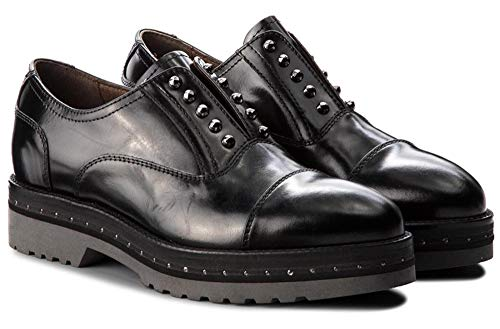 Noir Chaussures Femme Goujons A806561 NEROGIARDINI Micro 100 FRANCESINE avec 6561 zIqwU