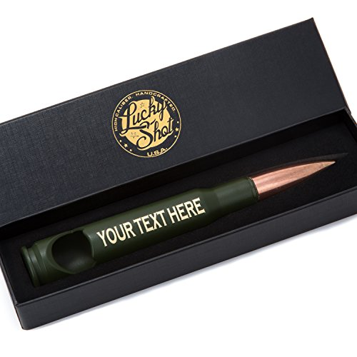 Personalizable Caliber Bullet Bottle Opener