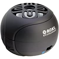 Moki BassBurger with Bluetooth and Microphone (Black)