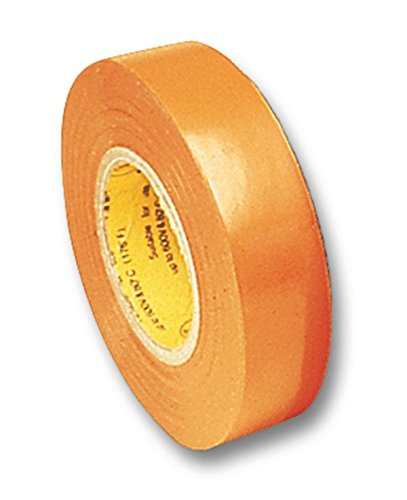 Electrical Tape Orange 66 Foot Roll 3/4 Inch Wide Ul510 Csa-5Pack by AYT