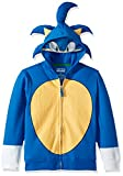 SEGA Kids' Little Sonic The Hedgehog Costume Hoodie, Royal, 5/6