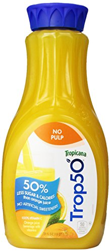 picture of Trop50 No Pulp Orange Juice, 59 fl oz
