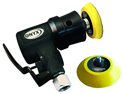 Astro 321 Velcro ONYX Random Orbit Micro Sander with 3mm Orbit by Astro Pneumatic Tool