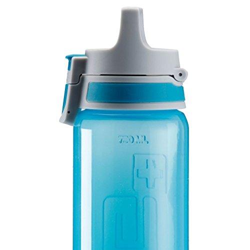 Botella de Agua Sigg Viva One Horses Libre de BPA Rojo 0.5L Polipropileno