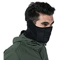 Tactical Neck Gaiter - Half Balaclava Style for Skiing,...