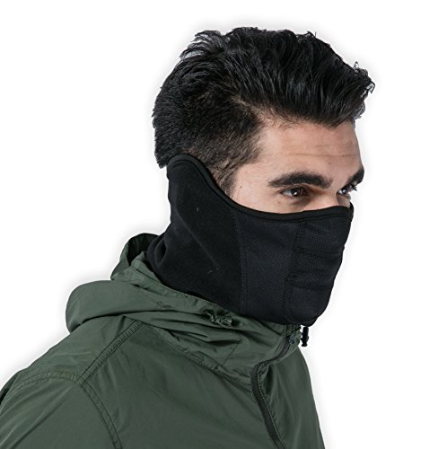 Tactical Neck Gaiter - Half Balaclava Style for Skiing