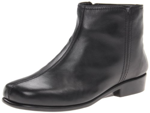 Aerosoles Womble Duble Trouble Bottine Noir En Cuir