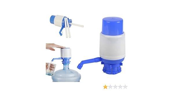 Genérico PomPa De Botella Dispensador De Agua Presione Por Mano: Amazon.es: Hogar