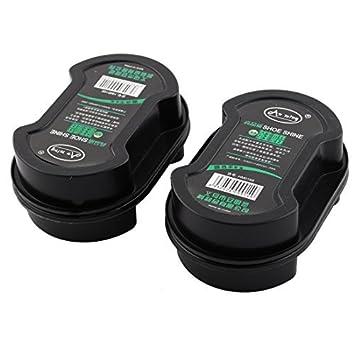 Amazoncom Dealmux Sponge Shoe Polish Case 11cm X 5cm 2pcs Black