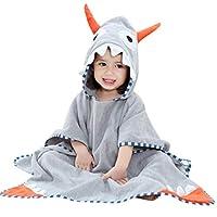 LNGRY Baby Clothes,Toddler Infant Boys Girls Cute Cartoon Animals Bathrobe Hooded Bath Towel Pajamas Clothes