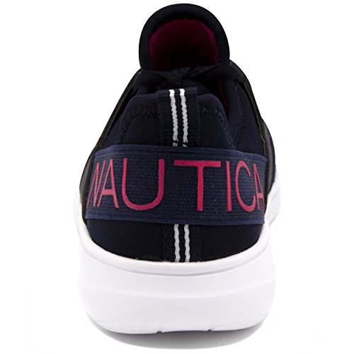Lace Running Big Little Shoes up Nautica up On Kid Lace Sneaker Fashion Kids Girls Slip Kid Navy SqTnAwIZF