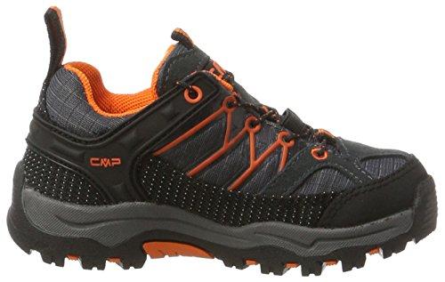 C.P.M. Rigel, Zapatos de Low Rise Senderismo Unisex Niños Negro (Asphalt)