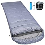 NORSENS Hiking Camping Backpacking Sleeping Bag Lightweight/Ultralight Compact, 0 Degree Cold Weather Sleeping Bags for Adults (Gray) Review