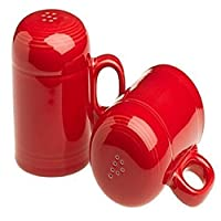 Fiesta Rangetop Salt and Pepper Set, Scarlet