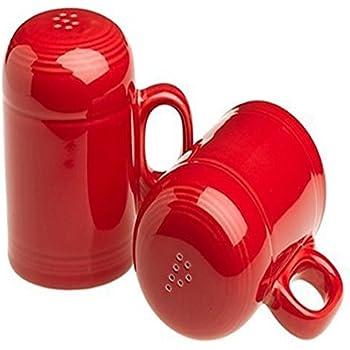 Fiesta Rangetop Salt and Pepper Set, Scarlet