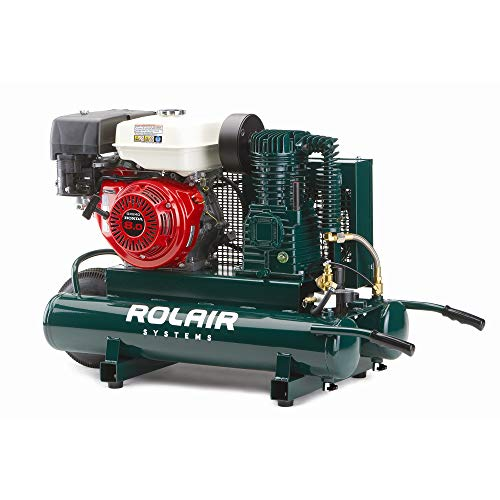 Rolair 1040HK18 9 Gallon 270cc 9 HP Portable Belt Drive...