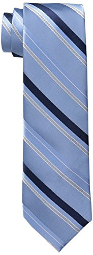 Haggar Men's Tall Performance Extra Long Stripe Necktie