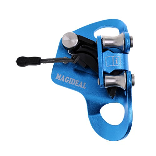 Dovewill Professional Chest Ascender w/ Roller Bearings for Outdoor Vertical Rope Climbing Arborist Rappelling Rescue Various Colors